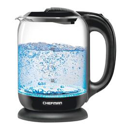 Chefman Electric Cordless Glass Kettle - 1.7L