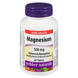 Webber Naturals Magnesium Enhanced Absorption 500 mg - 60 Tablets