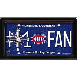 NHL Montreal Canadiens Wall Clock
