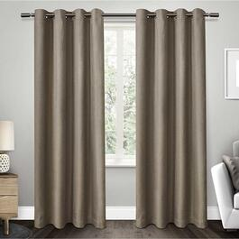Exclusive Home Eglinton Woven Blackout Curtains - 96in.