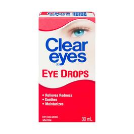 Clear Eyes Eye Drops - 30ml