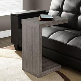 Monarch Specialties Inc.  Modern Accent/Tray Table - Dark Taupe