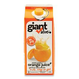 Giant Value Orange Juice - 1.7L