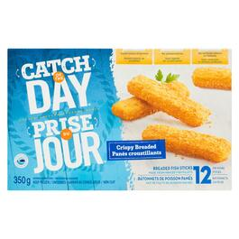 Catch of the Day Crispy Breaded Fish Sticks - 350g