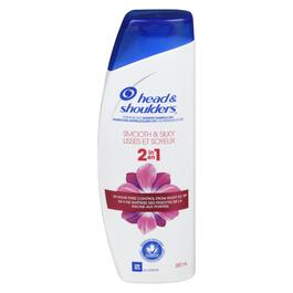 Head & Shoulders Smooth & Silky 2-in-1 Dandruff Shampoo + Conditioner - 380ml
