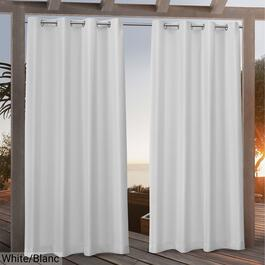 Nicole Miller Canvas Indoor Outdoor Curtains - 84in.
