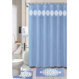 Nova Home Collection Blue Non-Slip Bath Set - 18pc.