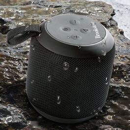 Brookstone MAKO Portable Water-Resistant Wireless Speaker