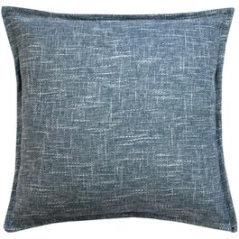 Milano Burlap Blue Cushion - 18in.