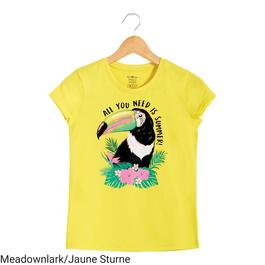BELLA & BIRDIE Girl's Short Sleeve T-Shirt - 7-16 (S-XL)