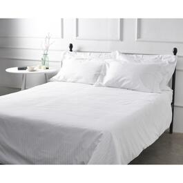 Millano SilverClear Dobby Stripe Flat Sheet