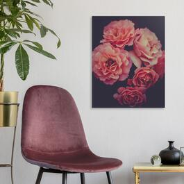 Pink Flowers Canvas Art - 16in. x 20in.