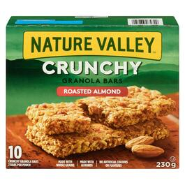 Nature Valley Crunchy Roasted Almond Granola Bars 10pk. - 230g