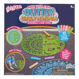 Glitter Mandela Chalk Set - 10pc.