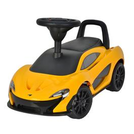 Kool Karz® Yellow Mclaren P1 Foot to Floor Push Ride On Car