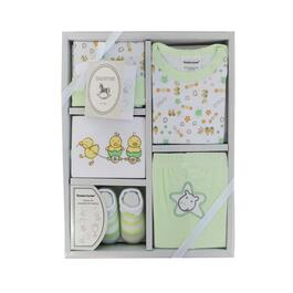 Tendertyme Baby Green Outfit Gift Set 5pc. - 0-6M