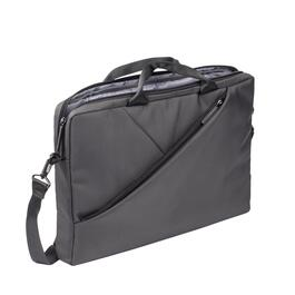 Rivacase Grey Laptop Bag - 15.6in.