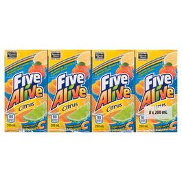 Five Alive Citrus 8pk. - 200ml