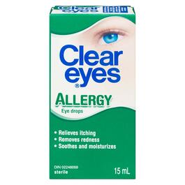 Clear Eyes Allergy Eye Drops - 15ml