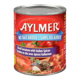 Aylmer Diced Tomatoes with Italian Spices - 796ml