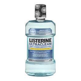 Listerine Ultra Clean Anti-Stain Mouth Wash - 1L