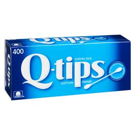 Q-tips Cotton Swabs - 400pk.