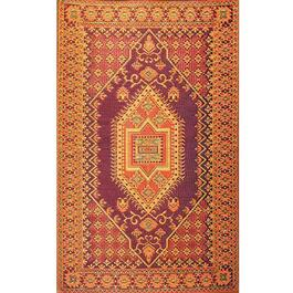 Mad Mats Runner Turkish Indoor/Outdoor Carpet - Rust