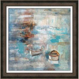 Calm Sea by Silvia Vassileva Framed Art - 34in.