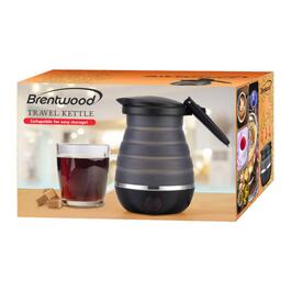 Brentwood Black Collapsible Travel Kettle - 0.8L