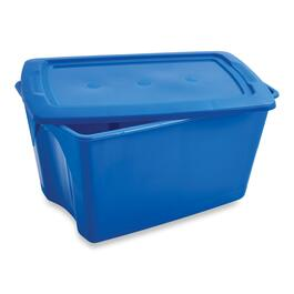 Storage Tote with Lid - 65L