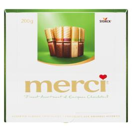 Merci Assorted European Almond Chocolates - 200g