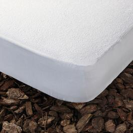 Gouchee Home Nube White Queen Waterproof Mattress Protector