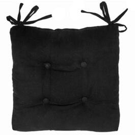 Virginia Black Chair Pads 4pc. - 18in.