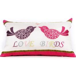 Gouchee Design Love Birds Cushion - 12in.