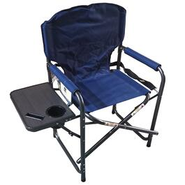 Mountain Ridge Blue Director Chair - 36in.