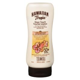 Hawaiian Tropic Sheer Touch Ultra Radiance Sunscreen Lotion SPF 50+ - 240ml