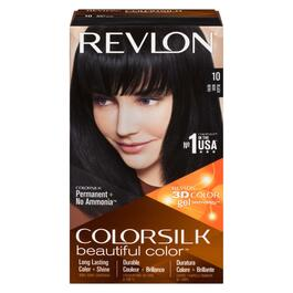 Revlon ColorSilk Hair Dye - No. 10 Black