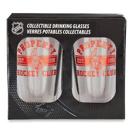 NHL Ottawa Senators Pint Glass - 2pk.