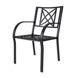 Vifah Paracelsus Outdoor Patio Chair Set - 2pc.