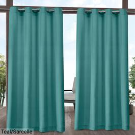Exclusive Home Aztec Indoor Outdoor Curtain Panel 2pc. - 120in.