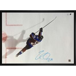 Nathan Mackinnon Signed Framed Canvas - 22in.x31in.