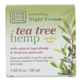 Dead Sea Collection Tea Tree And Hemp Day Cream - 50ml