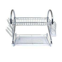 Better Chef Chrome Two-Tiered Dish Rack - 16 in.