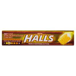 Halls Honey Cough Tablets - 9pk.