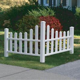 New England Arbors Country Corner Picket