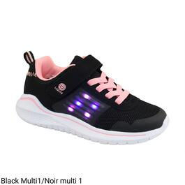 BELLA & BIRDIE Girl's Light-Up Athletic Shoes - 11-4