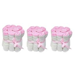 Tendertyme Washcloth, Pink - 30pk.