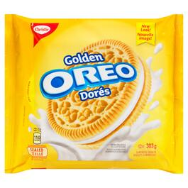Christie Oreo Golden Sandwich Cookies - 303g