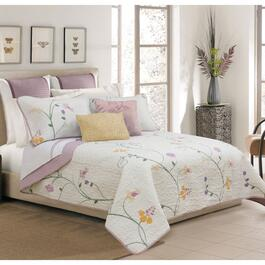 Safdie & Co. Serenade Double/Queen  Premium Quilt Set - 3pc.