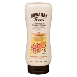 Hawaiian Tropic Sheer Touch SPF 15 Oil Free Sunscreen Lotion - 240ml